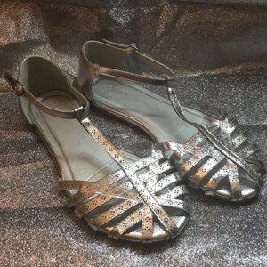 Torrid silver Sandal